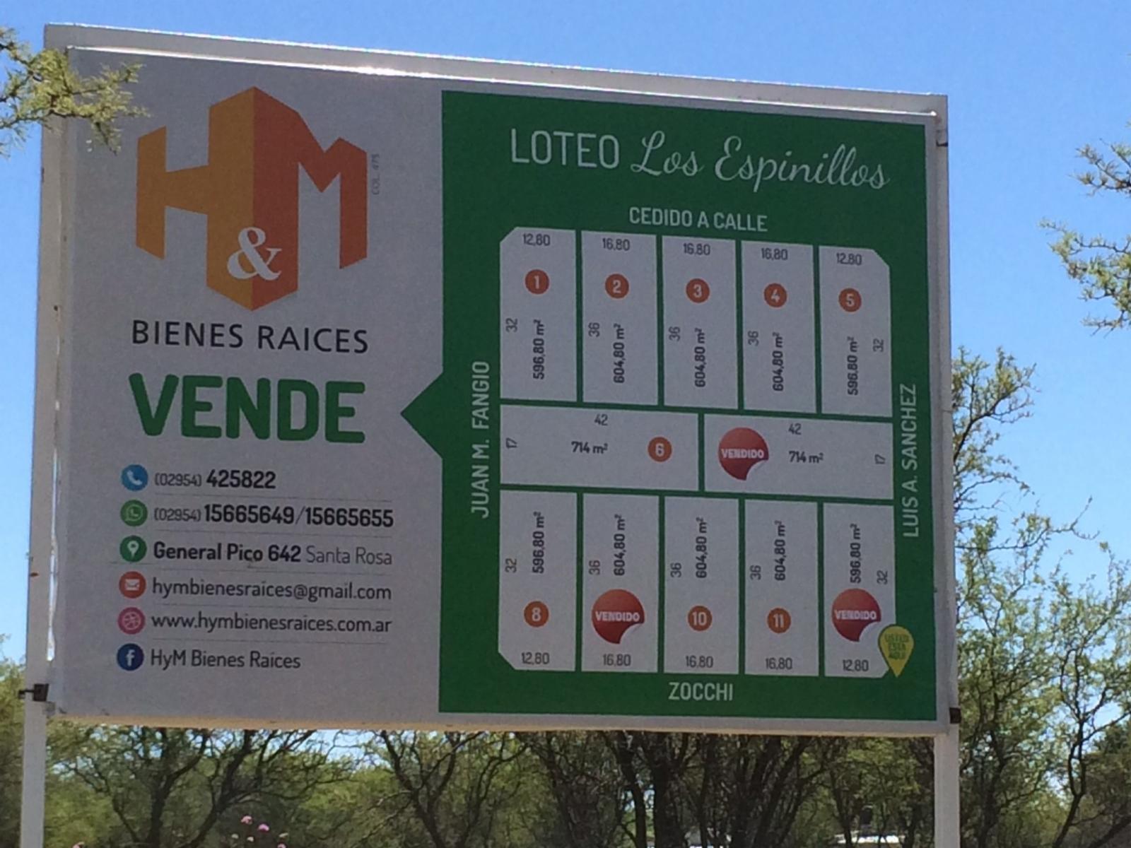 LOTEO SOBRE CALLE ZOCCHI A MTS DE D´ATRI, H&M Bienes Raíces