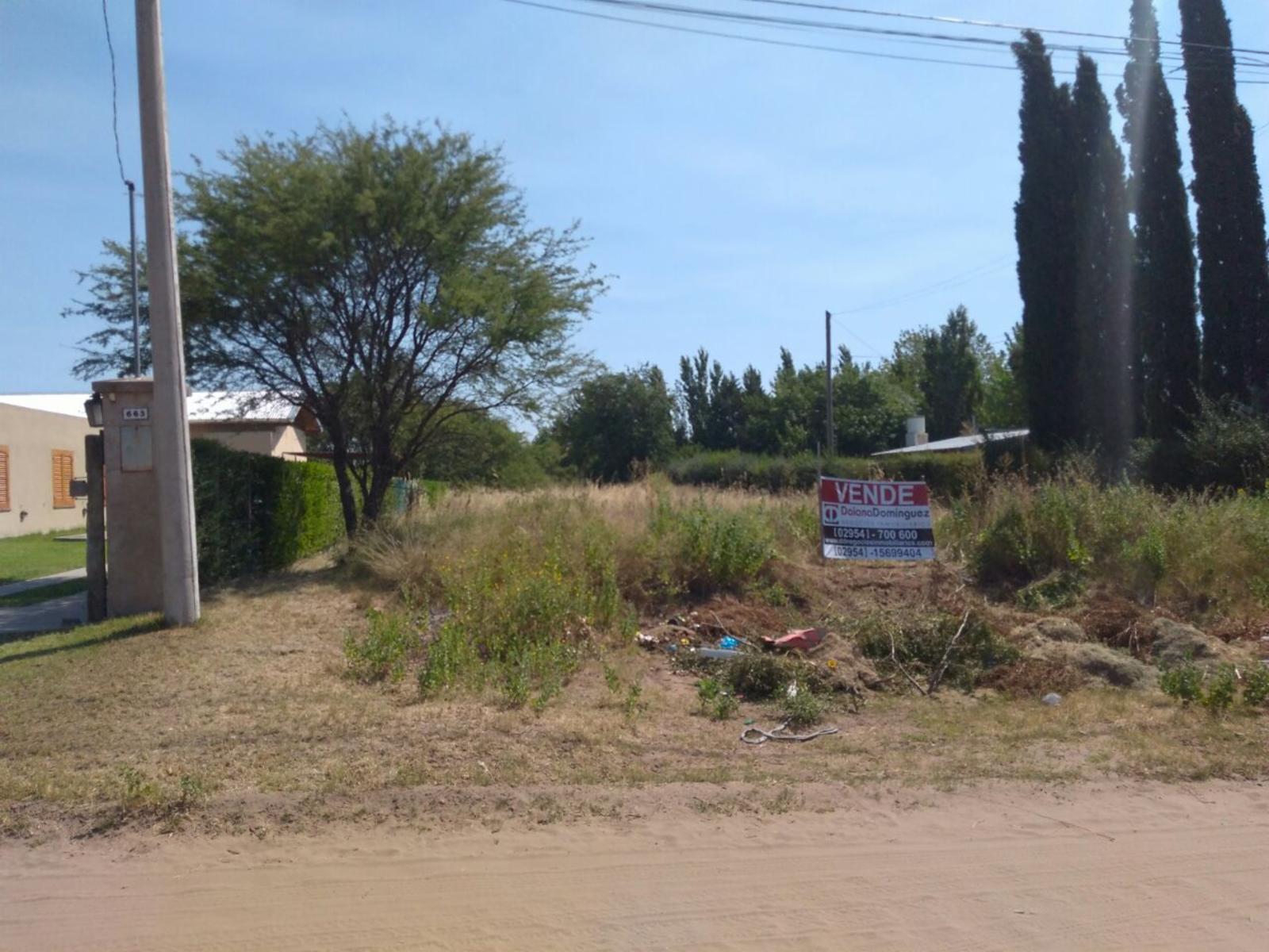 Venta terreno en Lowo Che, sobre calle Calandria, DAIANA DOMINGUEZ NEGOCIOS INMOBILIARIOS