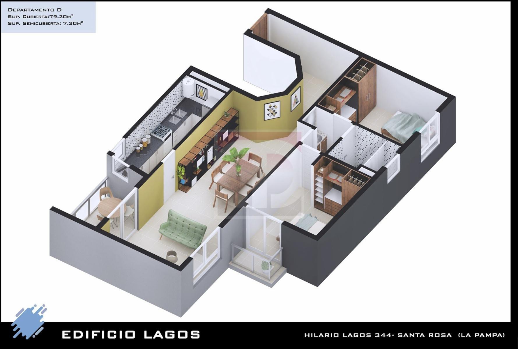 Venta departamentos Torre Lagos, DAIANA DOMINGUEZ NEGOCIOS INMOBILIARIOS