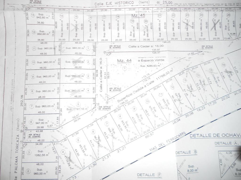 Lotes de 950 metros cuadrados en Barrio tipo privado., Guillermo Sanchez Desarrollos Inmobiliarios