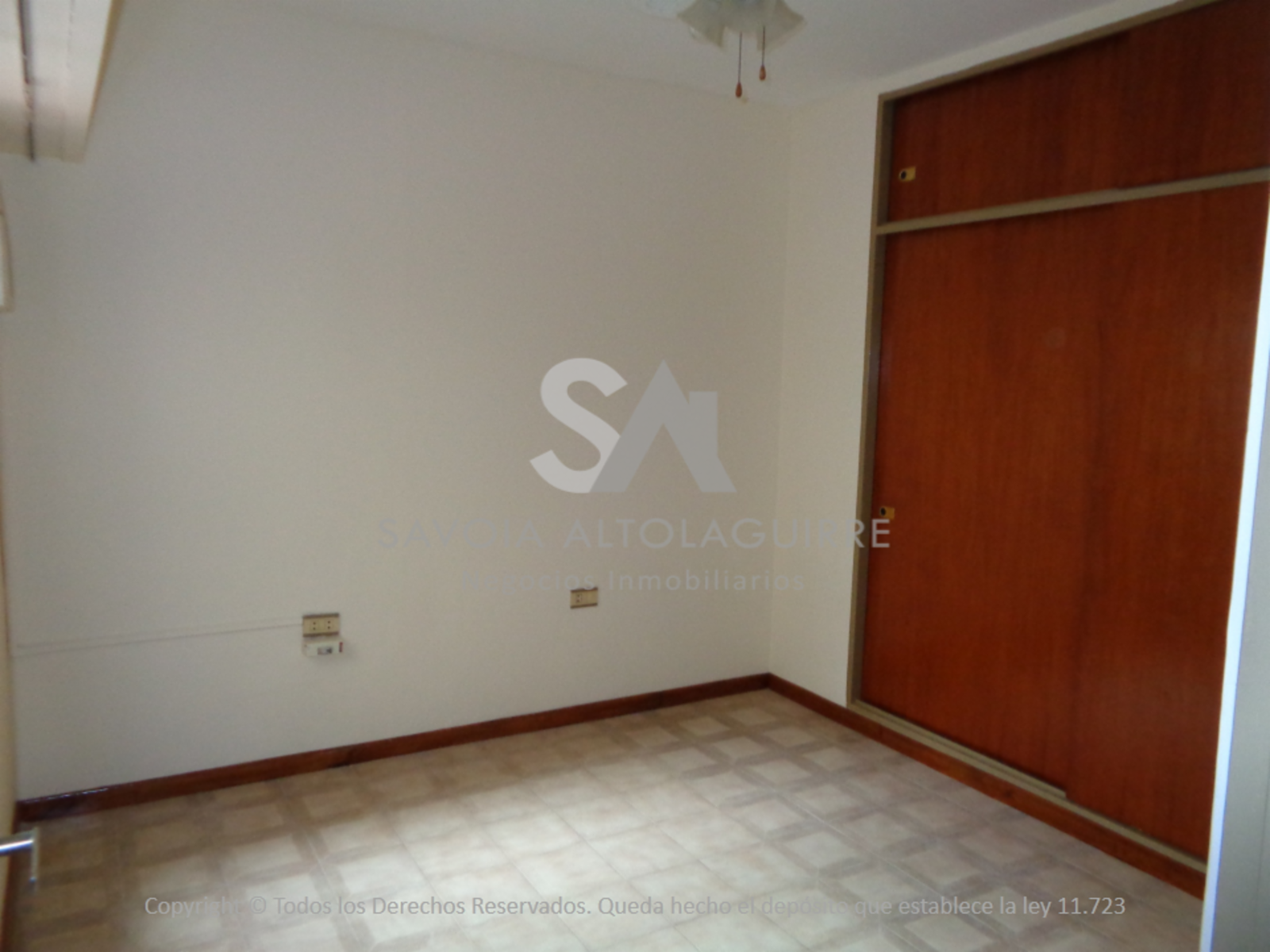 ALQUILA: DEPARTAMENTO 2 DORMITORIOS S/ CALLE SARMIENTO., Savoia Altolaguirre Negocios Inmobiliarios